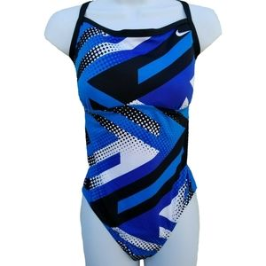 NIKE Women Tidal Riot One PieceSwimsuit Size L
